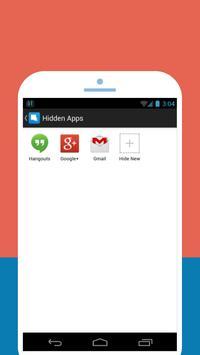 اخفاء التطبيقات والبرامج screenshot 2
