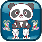 Fruits Match & Cute Animals:Classic games icon