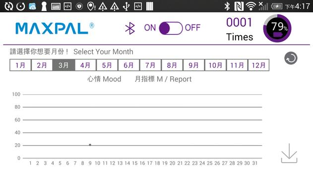 MAXPAL touch-H 手持心跳掃描器 screenshot 3