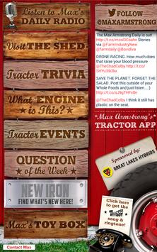 Max Armstrong's Tractor App screenshot 6