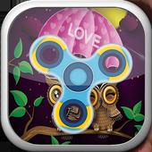 Fidget Love Spinner icon
