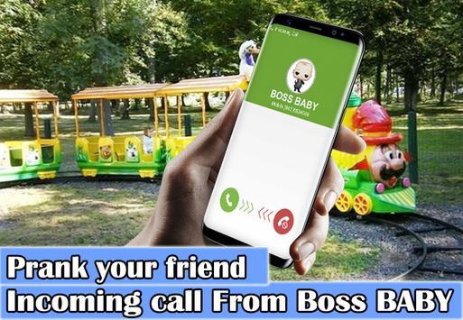 A Call From Boss Baby Prank screenshot 2