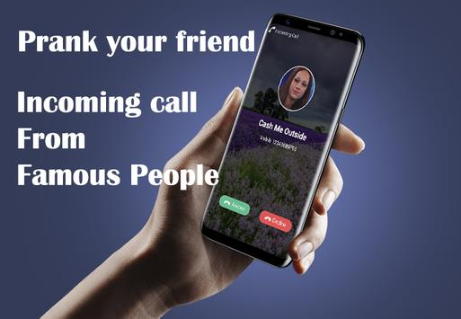 Fake Call 2017 Prank apk screenshot