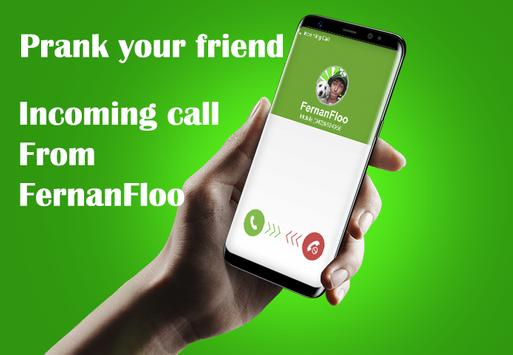 Fake Call FernanFloo Prank poster