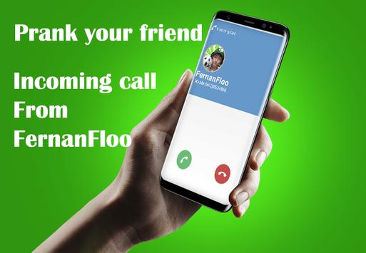 Fake Call FernanFloo Prank apk screenshot