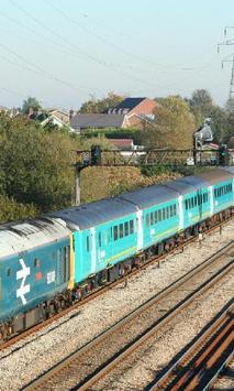 Trains United Kingdom Wales Jigsaw Puzzles poster