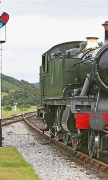 Trains United Kingdom Wales Jigsaw Puzzles apk screenshot