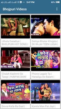 Hit Bhojpuri - hot video songs poster