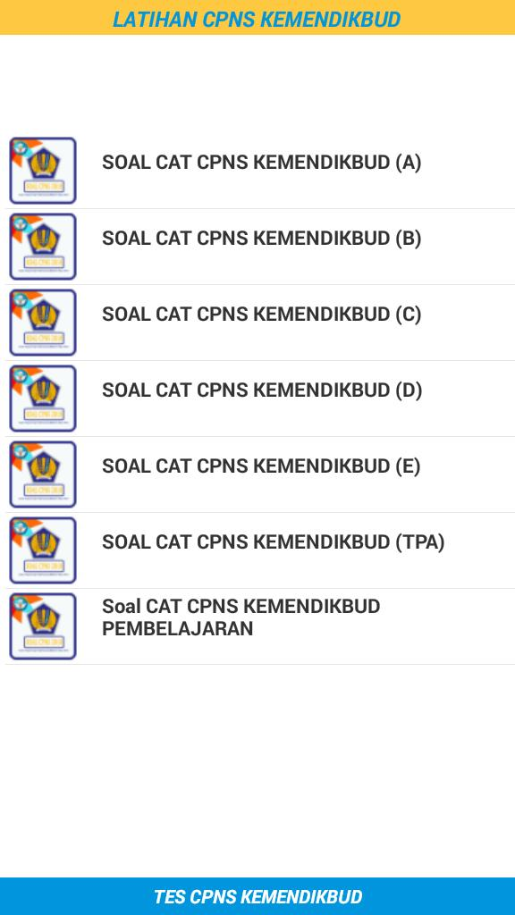 Latihan Soal Cpns Kemendikbud 2018 For Android Apk Download