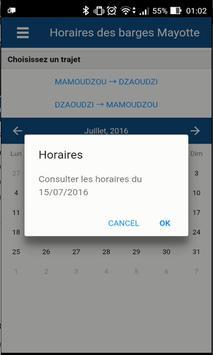 Barge de Mayotte apk screenshot
