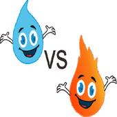 Fire vs Water icon