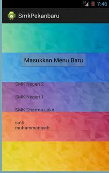 SMK di Pekanbaru poster