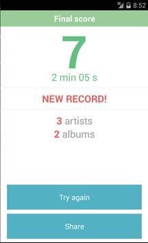Greatest Albums Quiz screenshot 2