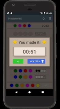 Mastermind screenshot 2