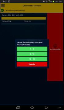 app-taxi Taxista screenshot 4