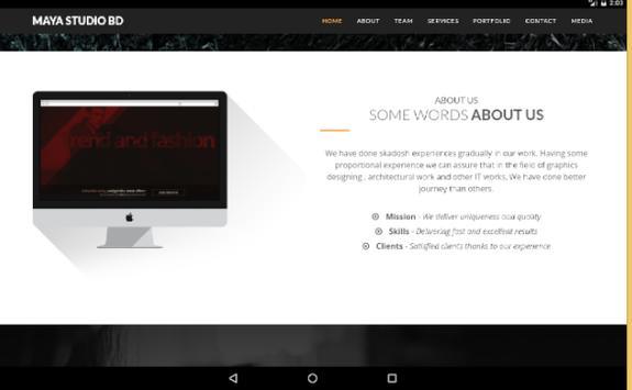 MayaStudioBD apk screenshot