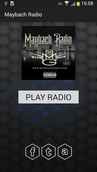 Maybach Radio poster