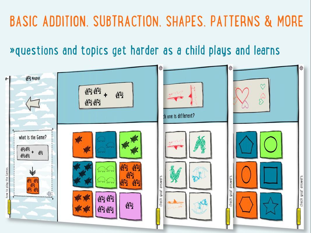 Beyond Cats! Kindergarten Math APK تحميل - مجاني تعليم تطبيق ...