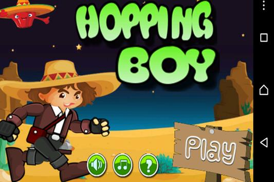 Hopping Boy poster