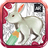 Magic Painting:Augmented Reality Coloring Book icon