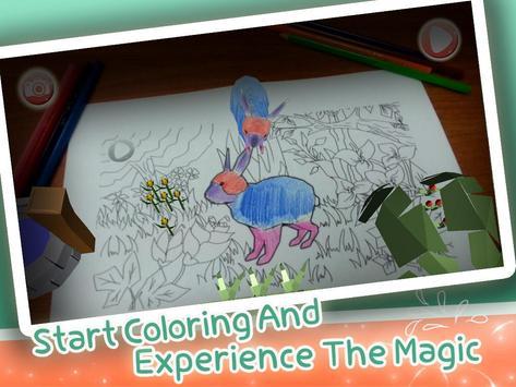 Magic Painting:Augmented Reality Coloring Book apk screenshot