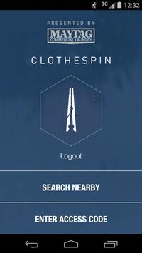 Clothespin poster