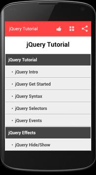 jQuery Tutorial poster