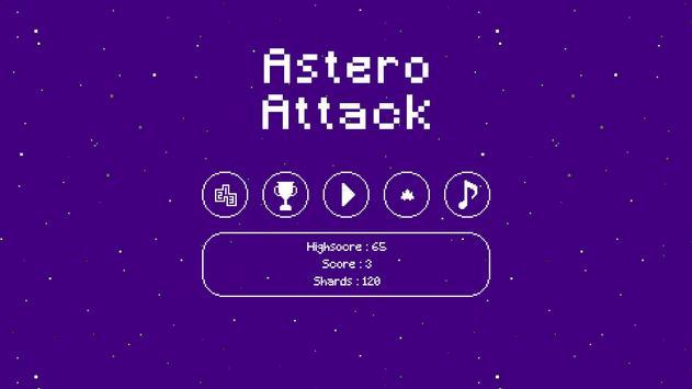 Astero Attack poster