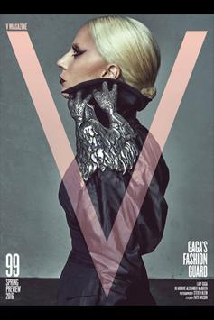 V Magazine poster