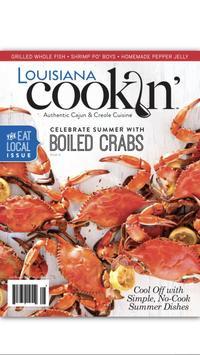 Louisiana Cookin' poster
