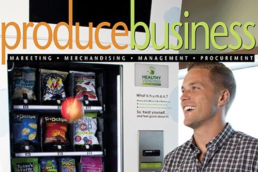 PRODUCE BUSINESS magazine poster