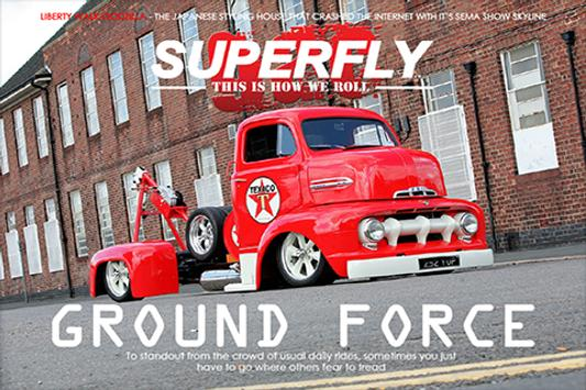 G.A.C. SuperFly Magazine poster