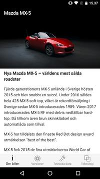Mazda Product Guide screenshot 1
