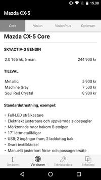 Mazda Product Guide screenshot 2