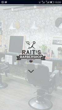 Rait's Barbershop poster