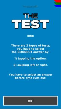 THE TEST - Test your skills apk screenshot
