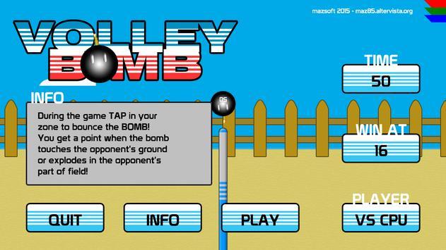 Volley Bomb ! apk screenshot