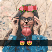 Snap photo Stickers Filters icon