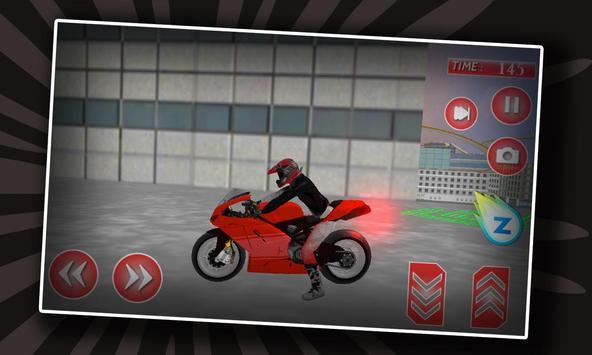 Motor Biker Extreme Roof Jump apk screenshot
