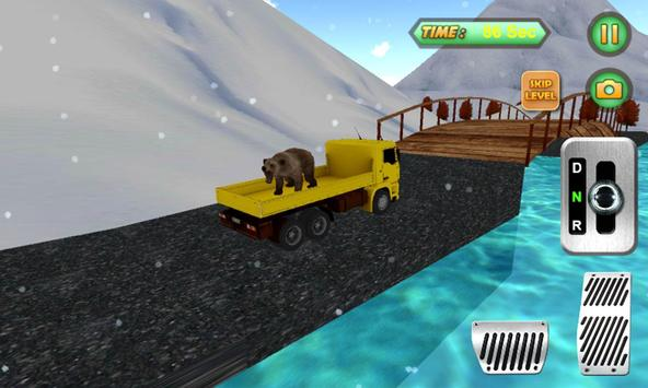 Animal Hill Climb Truck Sim poster