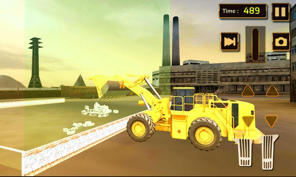 Construction Truck Loader Sim poster