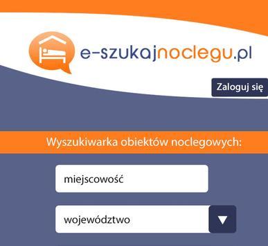 e-szukajnoclegu.pl poster