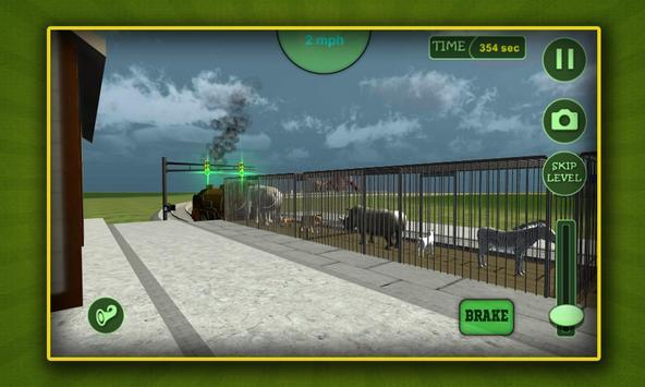Jungle Animals Train Transport apk screenshot