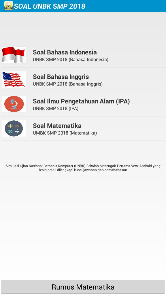 Soal Unbk Smp 2017 2018 For Android Apk Download