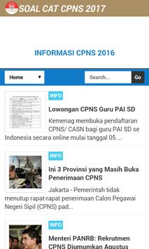 CAT CPNS 2017 Lengkap apk screenshot