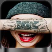 Tattoo maker photo icon