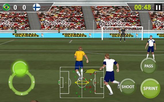 Football Real Hero; Play American Free Soccer Game screenshot 10