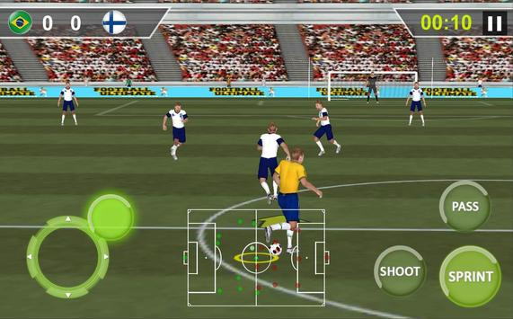 Football Real Hero; Play American Free Soccer Game screenshot 11