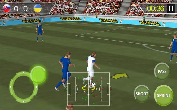 Football Real Hero; Play American Free Soccer Game screenshot 1