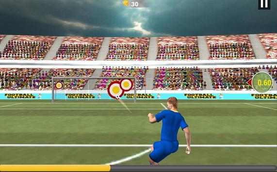 Football Real Hero; Play American Free Soccer Game screenshot 5